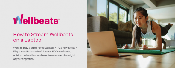 How to stream Wellbeats on your Laptop